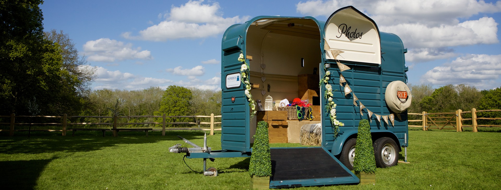 Horsebox Photo Booth Wedding and Event Photo Booth in Sussex