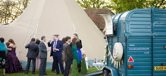 Outdoor weddings Rustic charm vintage photobooths