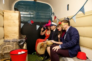 unusual photo booth